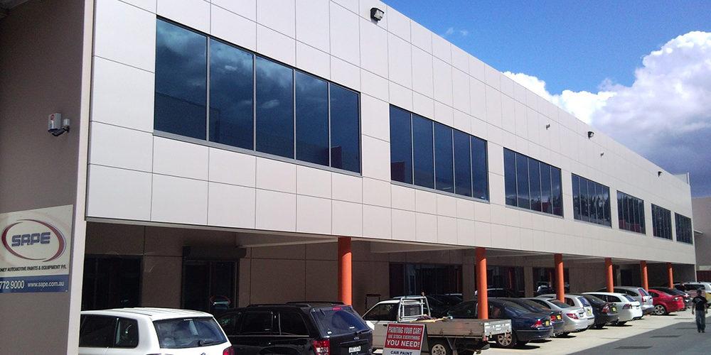 condell park factory industrial estate build sydney 1