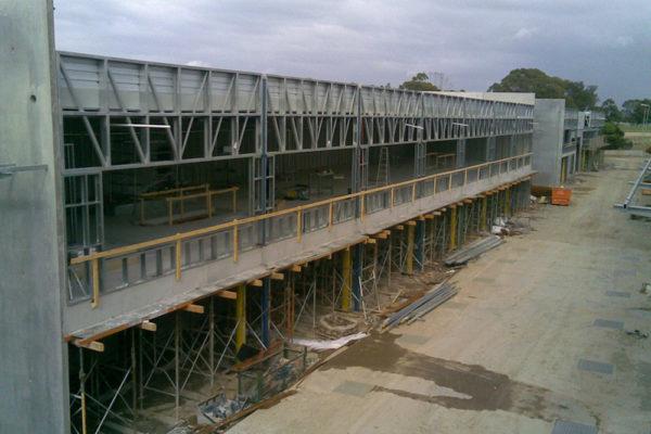 condell park factory industrial estate build sydney 2