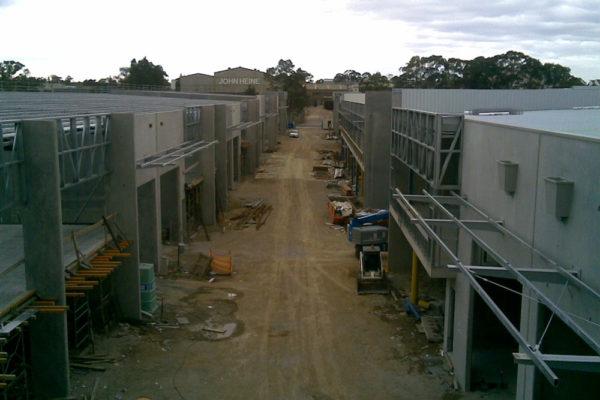 condell park factory industrial estate build sydney 3